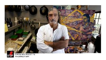 CULINARY AND CANVAS , BLOG SPOT, TONY ROMANO, ITALIAN CUISINE, ARTWORK